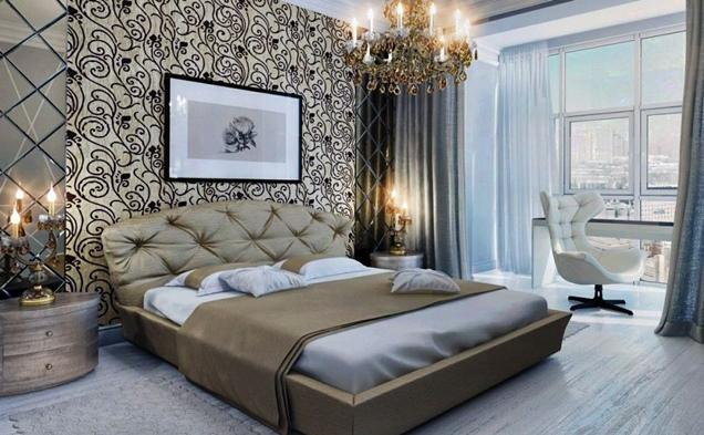 15 modelos de papel mural para la habitaci n matrimonial for Modelos de dormitorios para ninos
