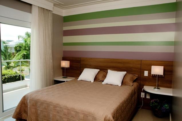 15 modelos de papel mural para la habitación matrimonial
