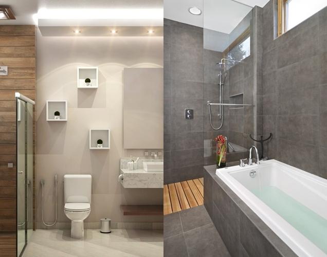 Qu tipos de revestimientos usar para el ba o for Revestimiento de piedra para banos