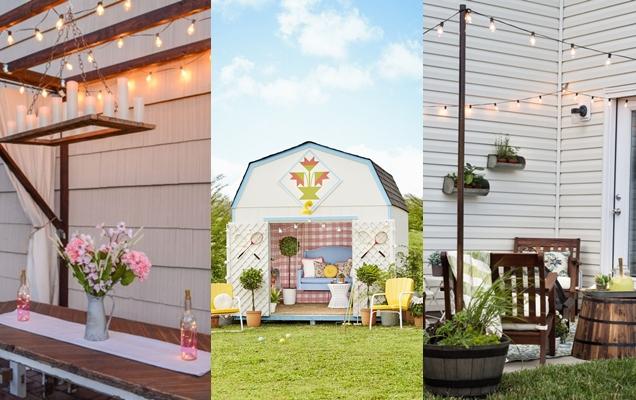 Ideas espectaculares para decorar el jardin trasero