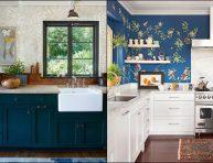 imagen Ideas para el papel mural de la cocina