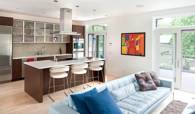 Consejos para decorar una cocina-comedor unida