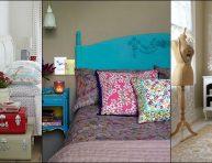 imagen 26 ideas para una habitación vintage