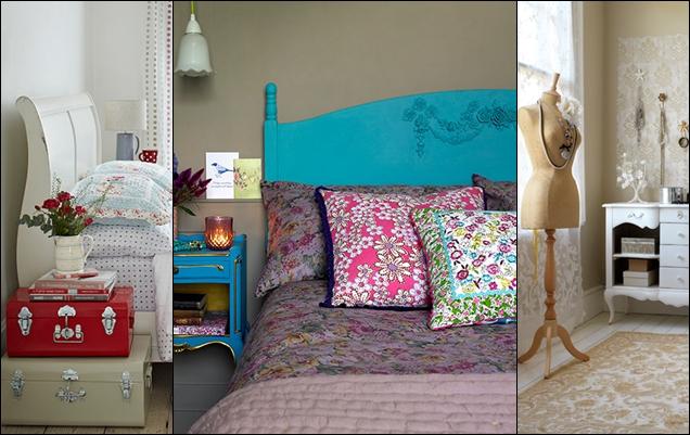 26 Ideas Para Una Habitacion Vintage - Habitacion-retro