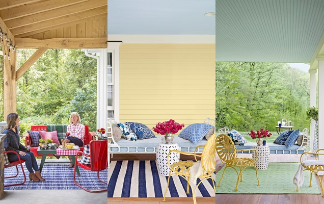2 maneras de actualizar tu porche o patio trasero