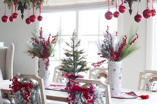 12 Bonitas Decoraciones Para La Mesa De Navidad 161 Toma Nota