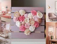 imagen 12+ mejores ideas de decoración con rosa para 2019