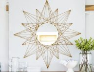 imagen DIY: espejo estrellado para renovar tu hogar