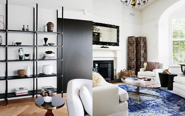 Ideas de almacenamiento en la sala de estar que reducen el desorden