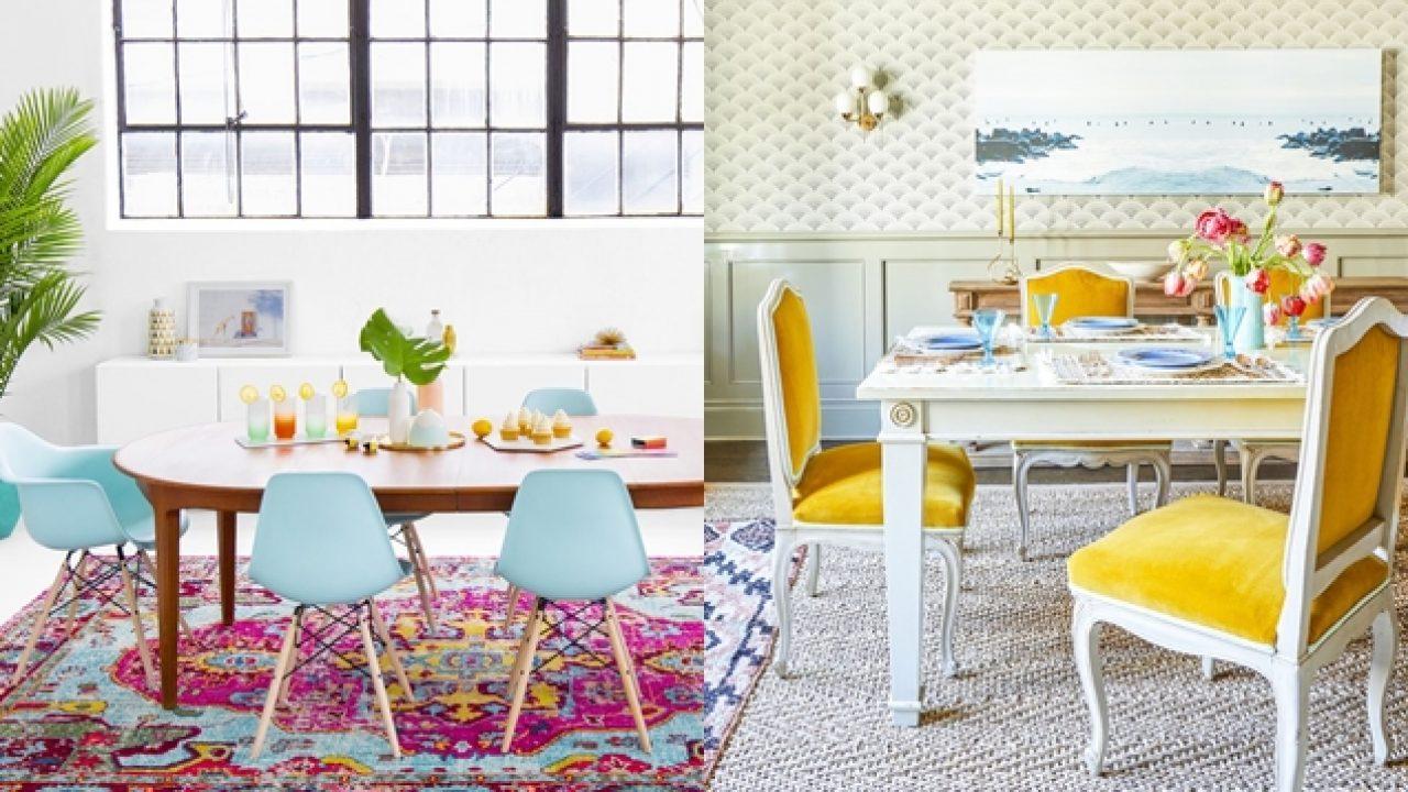 10 ideas de diseño frescas y modernas para redecorar tu comedor