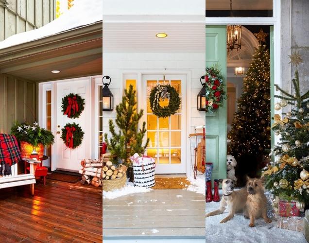 Ideas de decoracion de Navidad al aire libre
