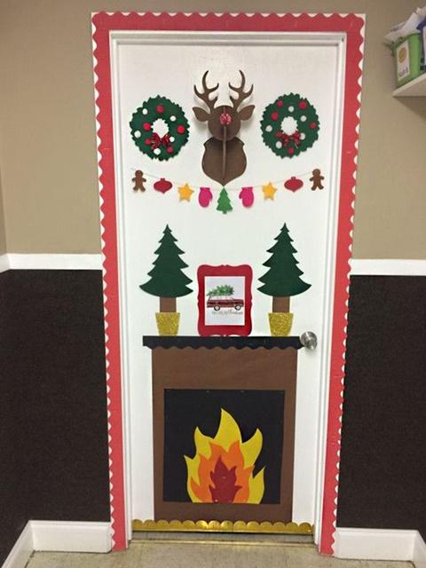 10 Ideas Para Decorar Puertas En Navidad Te Encantaran