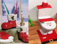 imagen Cómo decorar el baño para Navidad