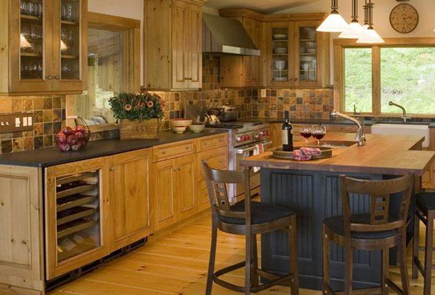 ideas de cocinas de madera