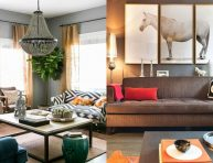 imagen Ideas de decoración de sala de estar gris