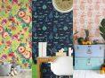imagen Dale un cambio a tu hogar con papel tapiz temporal