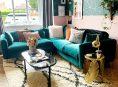 imagen Cómo usar el color verde azulado en tu sala de estar